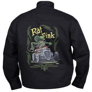 Rat Fink by Steady Clothing Biker Jacket - Rod Moto