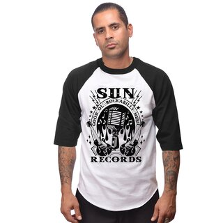 Sun Records by Steady Clothing Raglan Shirt - Rockabilly