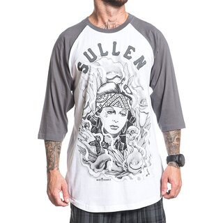 Sullen Clothing 3/4-Sleeve Raglan T-Shirt - Suarez