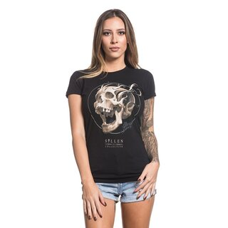 Sullen Clothing Damen T-Shirt - Bone Filigree