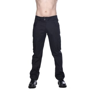 Black Pistol Jeans Trousers - Military Pants Denim