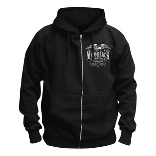 Johnny Cash Zip Hoodie - Outlaw Nashville