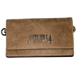 Jacks Inn 54 Leather Wallet / Fanny Pack - White Rum