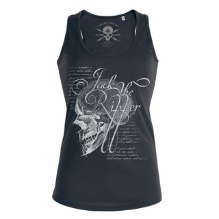 Jacks Inn 54 Ladies Tank Top - Jacks Brain Black