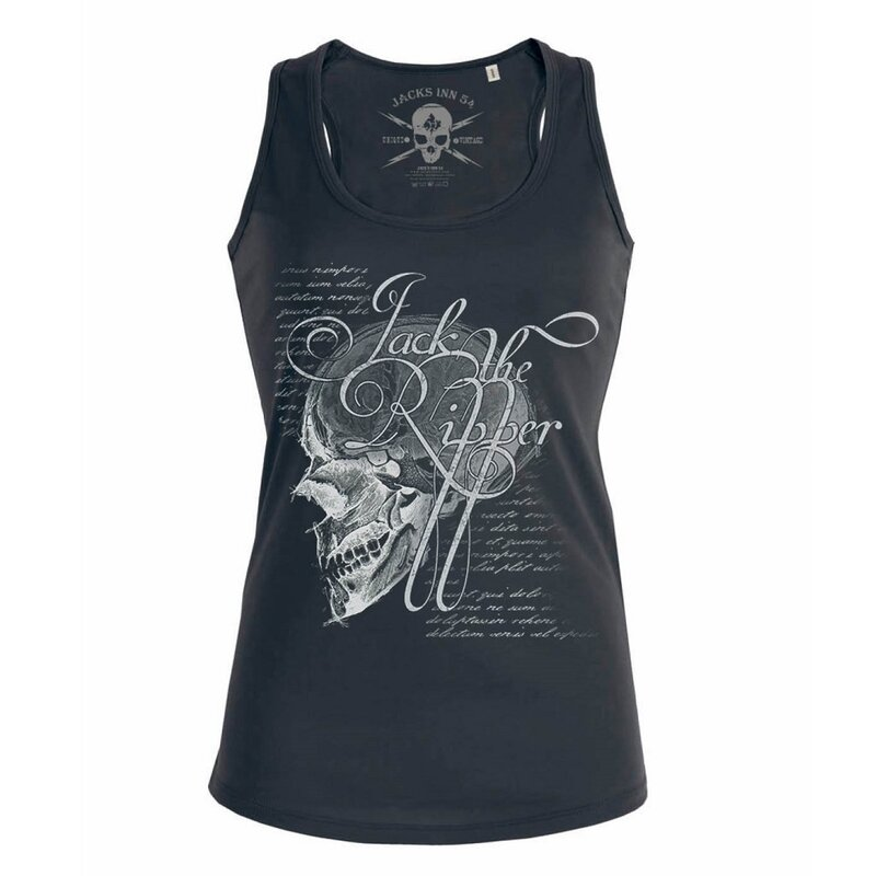 Jacks Inn 54 Damen Tank Top - Jacks Brain Schwarz M