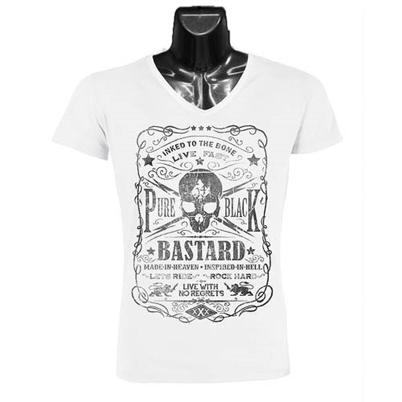 Jacks Inn 54 T-Shirt - Bastard Weiß L