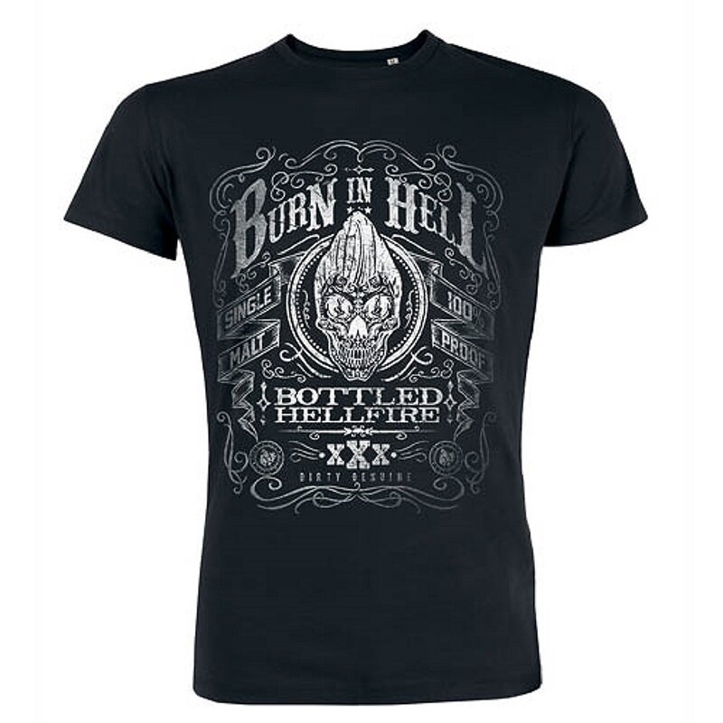 Jacks Inn 54 T-Shirt - Burn In Hell Schwarz XL