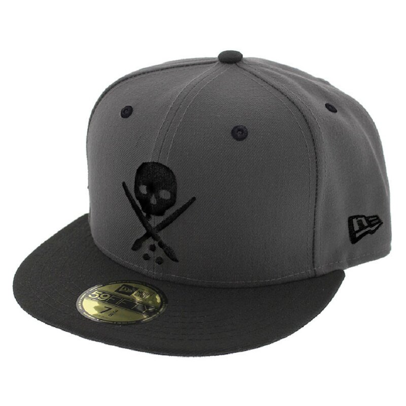 Sullen Clothing New Era Fitted Cap - Eternal Grau 8 1/4