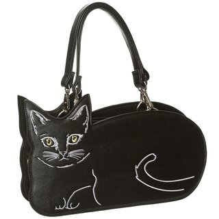 Banned Handbag - Kitty Cat