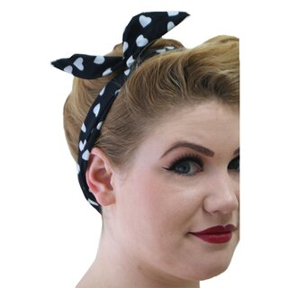 Banned Headband - Marylin Black