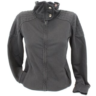 Queen Kerosin Sweaterjacke - Biker Zip XS