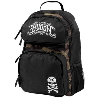 Hyraw Rucksack - Skull Backpack 1 Dark Camouflage