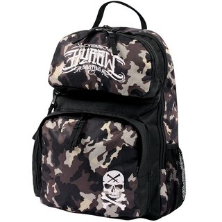 Hyraw Rucksack - Skull Backpack 2 Light Camouflage
