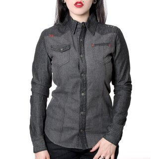 Hyraw Denim Shirt - Redcross