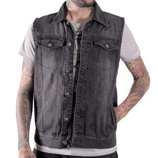 Hyraw Denim Vest - Rolling