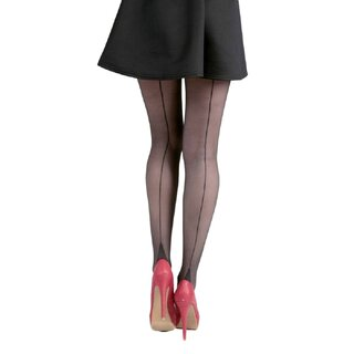 Pamela Mann Tights - Jive Seamed Black