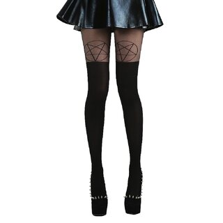 Pamela Mann Tights - Pentagram