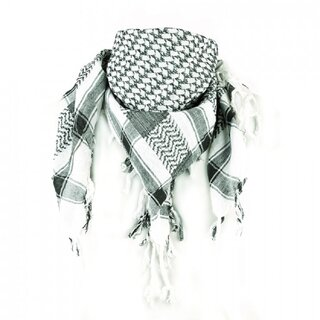 Rock Daddy PLO Scarf - White Black