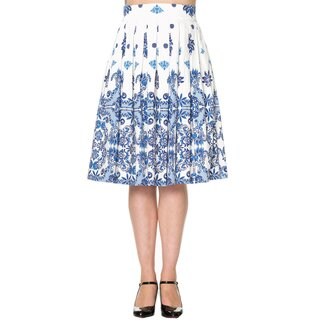 Dancing Days Pleated Skirt - Follow You White