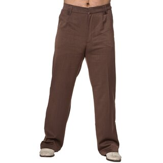 Dancing Days Gents Trousers - Get In Line Brown