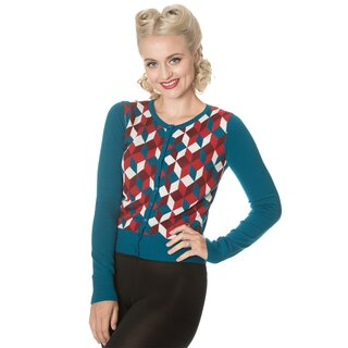 Dancing Days Cardigan - Retro Cube