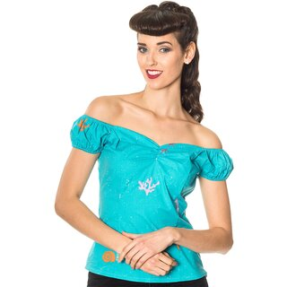 Dancing Days Shoulder-Free Top - Sophia