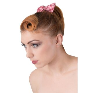 Banned Hairband - Lovestruck Gingham
