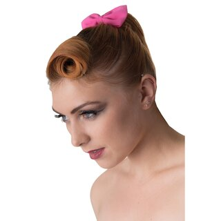 Banned Hairband - Lovestruck Pink