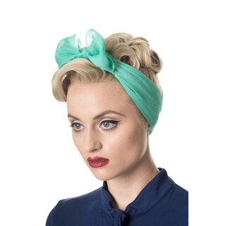Banned Chiffon Scarf - Gradiation Mint
