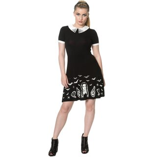 Banned Skater Kleid - Black Magic
