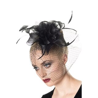 Banned Hairclip - Arabella Fascinator