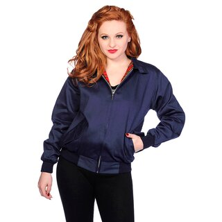 Banned Unisex Bomberjacke - Harrington Blau