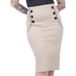 Steady Clothing High-Waist Pencil Skirt - Vivian Wiggle...
