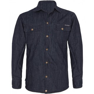 King Kerosin Biker Shirt Jacket - Speedshirt Denim