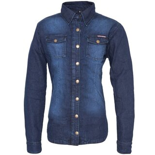 Queen Kerosin Ladies Biker Shirt - Speedjul Denim