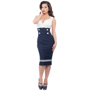 Steady Clothing Bleistiftkleid - Set Sail Diva Dress...