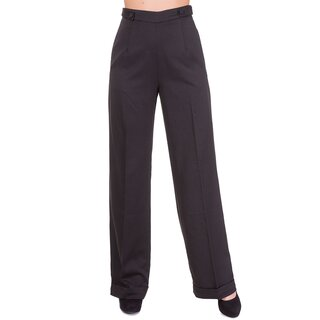 Dancing Days Marlene Trousers - Party On Black