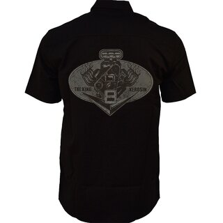 King Kerosin Shortsleeve Worker Shirt - V8