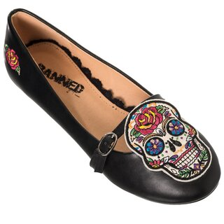 Banned Ballerina Flats - Breaking The Chains