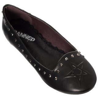 Banned Ballerina Flats - Kiss Me Deadly