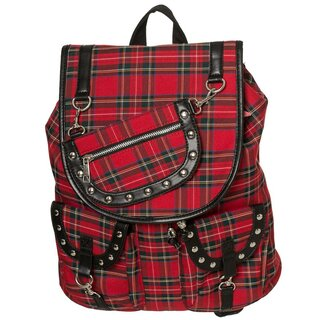 Banned Backpack - Yamy Tartan