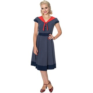 Dancing Days Vintage Dress - The Insider Navy