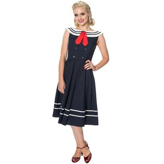 Dancing Days Vintage Dress - Aquarius