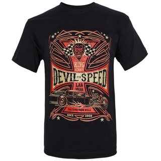 King Kerosin Regular T-Shirt - Devil Speed