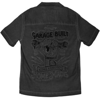 King Kerosin Dragstrip Worker Shirt - Hand Made