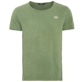 King Kerosin Vintage T-Shirt - Basic Green