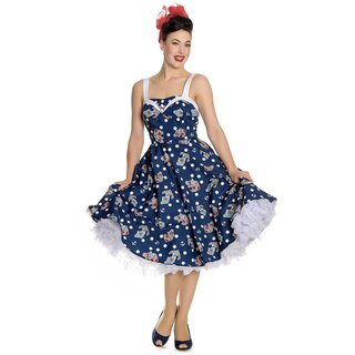 Hell Bunny Vintage Dress - Oceana 50s