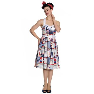 Hell Bunny Vintage Dress - Lighthouse 50s