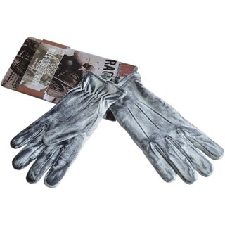 King Kerosin Ladies Leather Biker Gloves - Work Glove...