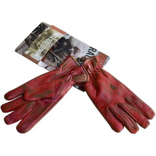 King Kerosin Damen Leder Biker Handschuhe - Work Glove...